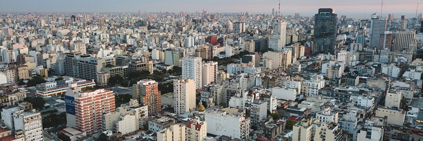 Cityscape of Buenos Aires