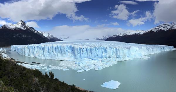 Perito Morino Glacier in Argentina