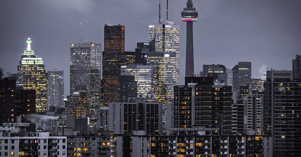 Cityscape of Toronto, Canada
